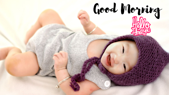 Happy Girl Baby Good Morning Images