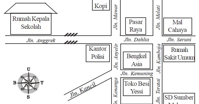 Bahasa Indonesia Kelas Iv Membuat Gambar Atau Denah Bisa