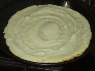flip rava dosa- preparing rava dosa recipe