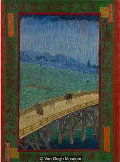 Japanese paintings that inspired Van Gogh