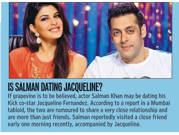 Salman dating jacqueline fernandez