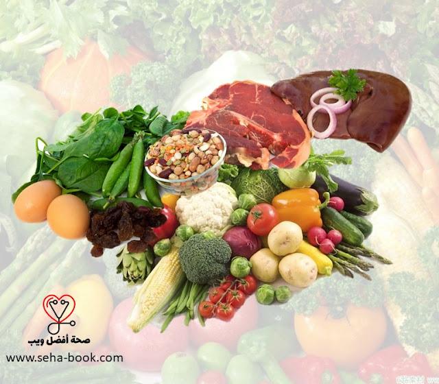 أفضل نظام غذائي لأنيميا نقص الحديد
