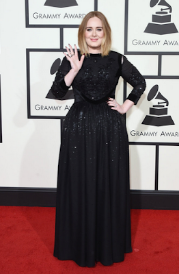 Adele Grammys 2016