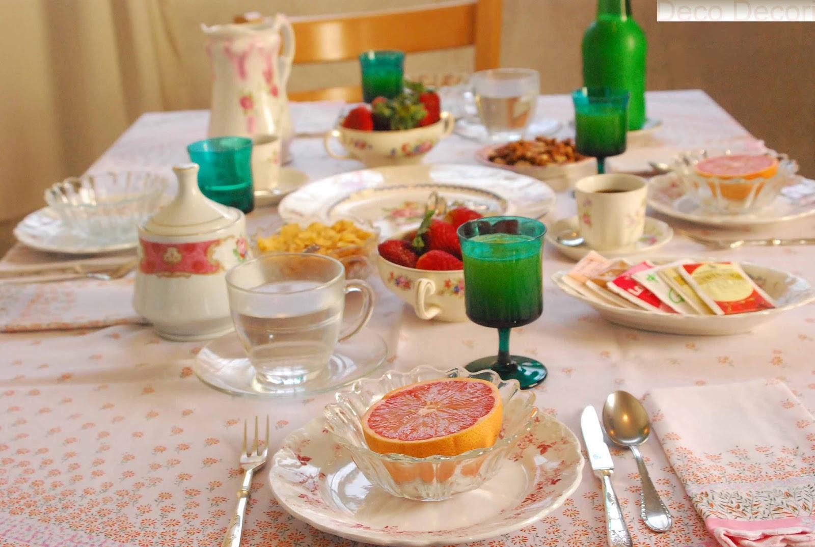 Mesa de desayuno for Mesa desayuno
