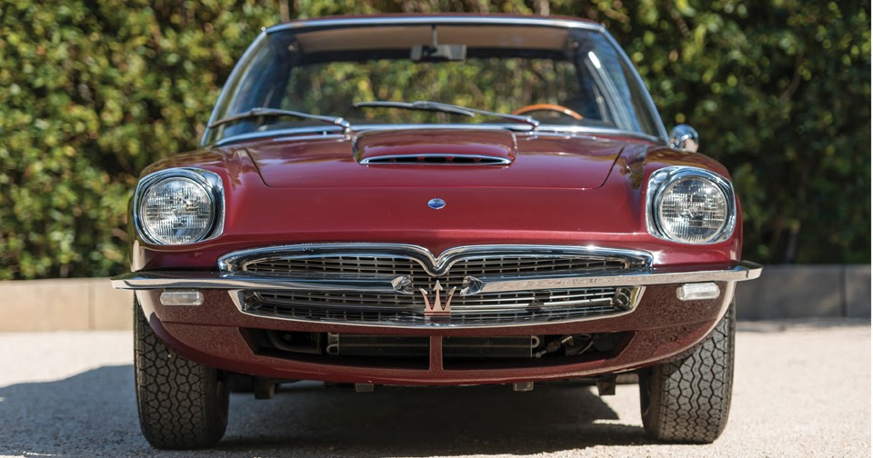 One-Of-A-Kind Maserati Prototype Could Be Yours
