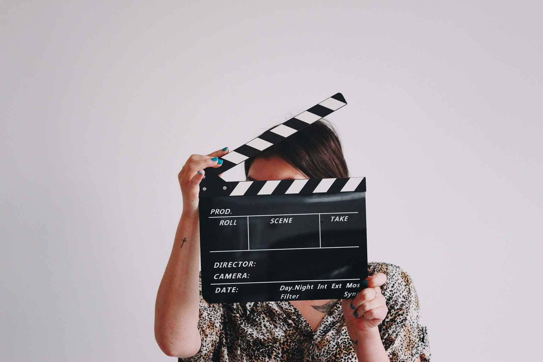 TV Dating Show Clapperboard