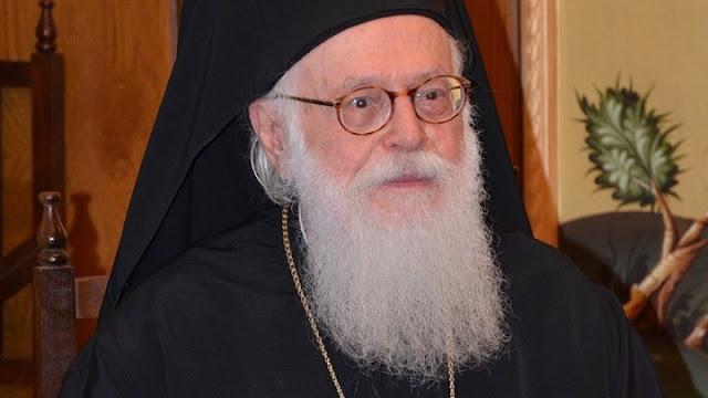 Στην Ελλάδα με C-130 ο Αρχιεπίσκοπος Αλβανίας Αναστάσιος - Προσβλήθηκε από κορωνοϊό