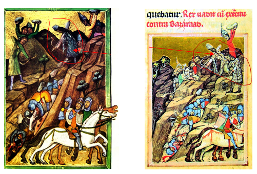 Cronica Pictată de la Viena, Bătălia de la Posada.