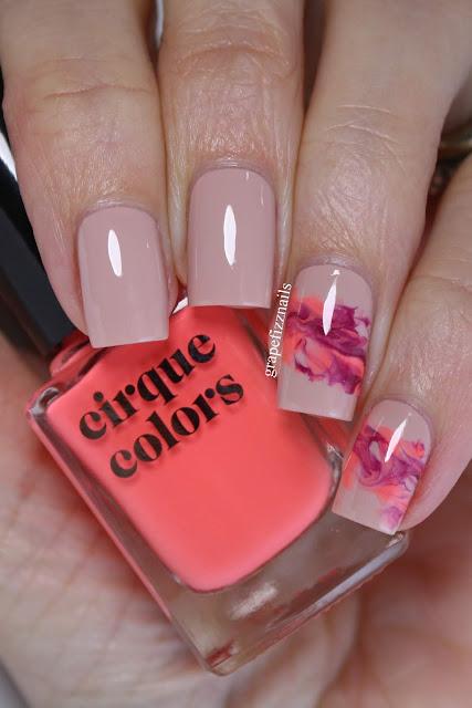 Cirque Colors Abstract Nail Art
