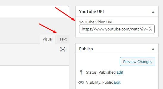 Video Youtube dalam Postingan Blog