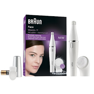 OFFER Epilators, Braun Face 810 Facial Epilator and Facial Cleansing Brush £25.99