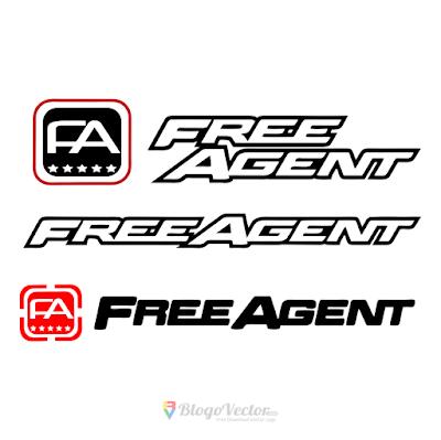 Free Agent BMX Logo Vector