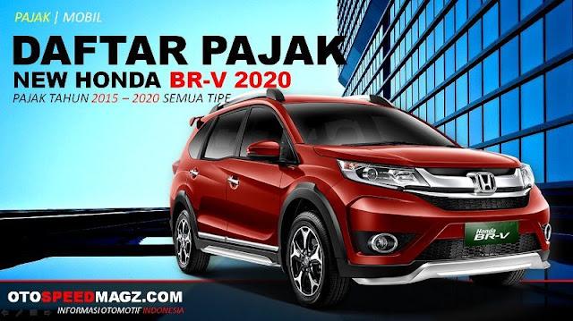 Daftar PAJAK Honda BR-V_2020