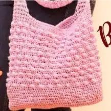 Bolso Primavera a Crochet