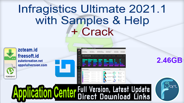 Infragistics Ultimate 2021.1 with Samples & Help + Crack_ ZcTeam.id