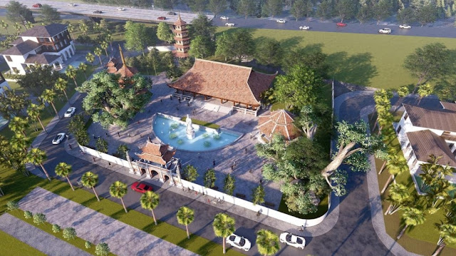 Dự án Sunshine Heritage Resort Phúc Thọ Hà Nội với Công viên văn hóa