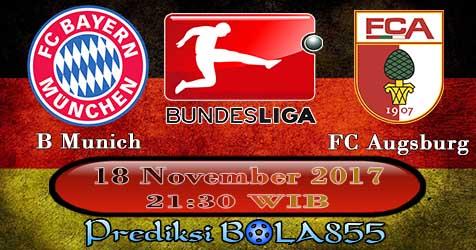 Prediksi Bola855 Bayern Munchen vs Augsburg 18 November 2017