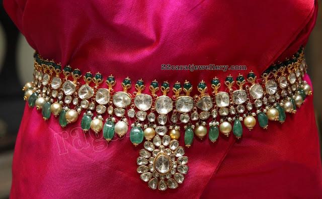 Flat Diamond Grand Vaddanam by Kalasha
