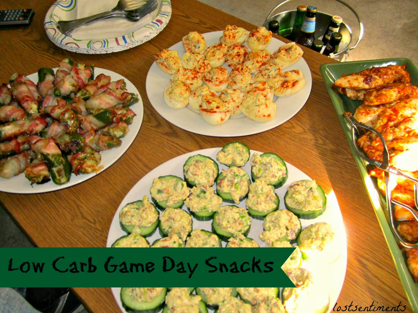 lostsentiments low carb game day recipe eats. Black Bedroom Furniture Sets. Home Design Ideas