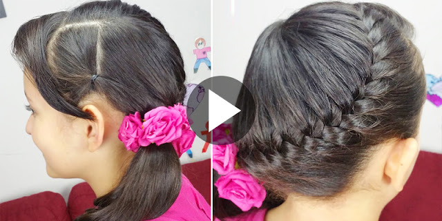 Learn - How To Make Quick and Easy Fishtail Braid Hairstyle, See Full Tutorial