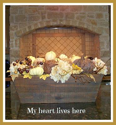 Kitchen Decor - My Heart Lives Here