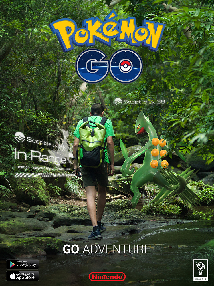 pokemon go poster