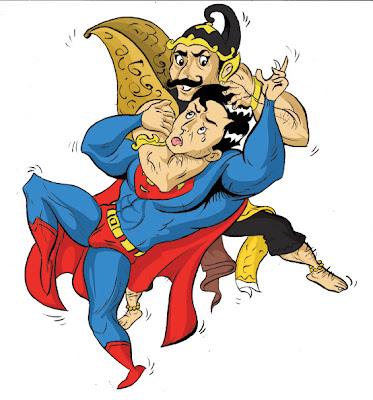 Kumpulan Gambar Lucu Superhero Avengers Kocak  Ucapan Gambar