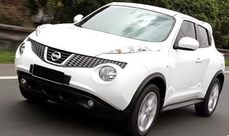 Mobil Nissan Juke Putih