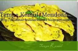Tempe selain sanggup diolah menjadi kuliner berkuah Resep Tempe Kemul/Mendoan Yogyakarta yang Nasgur ( Panas dan Gurih )