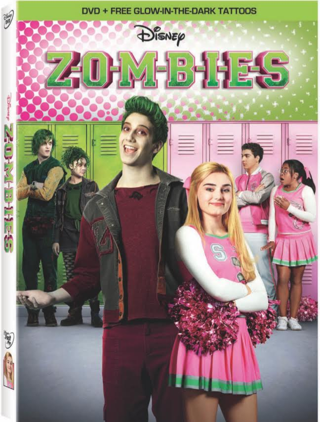 Inspired By Savannah Disneys Zombies Available On Dvd Today