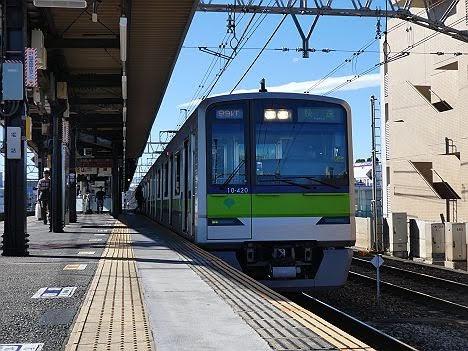 まさかの上り快速 笹塚止まり!都営10-300形420F