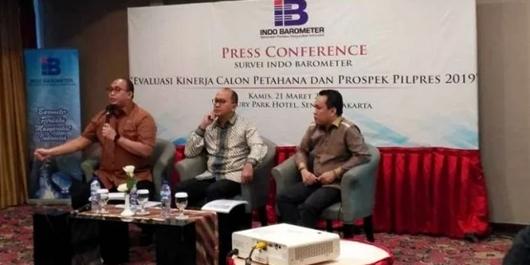Indo Barometer: Jokowi-Maruf 50,2 Persen, Prabowo-Sandi 28,9 Persen