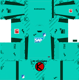 TSG Hoffenheim 2019/2020 Kit - Dream League Soccer Kits