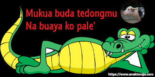 Bahasa Toraja lucu dan artinya
