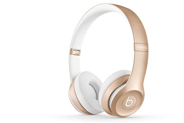 Beats Solo 2 Wireless in Gold