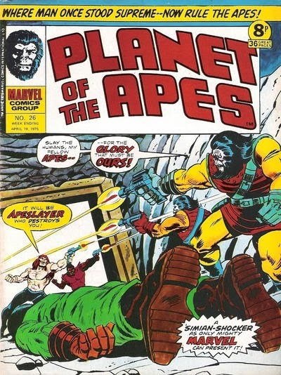 Apeslayer, Planet of the Apes #26