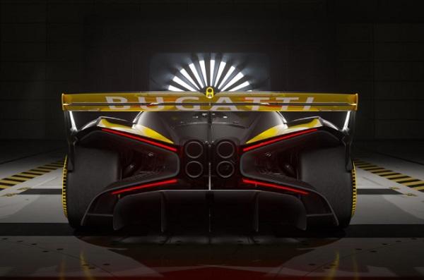 Bagian Belakang Bugatti Bolide