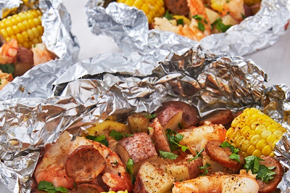 Grilled #Shrimp #Foil #Packets