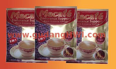 Macafe - Kopi Stamina Maca Gingseng