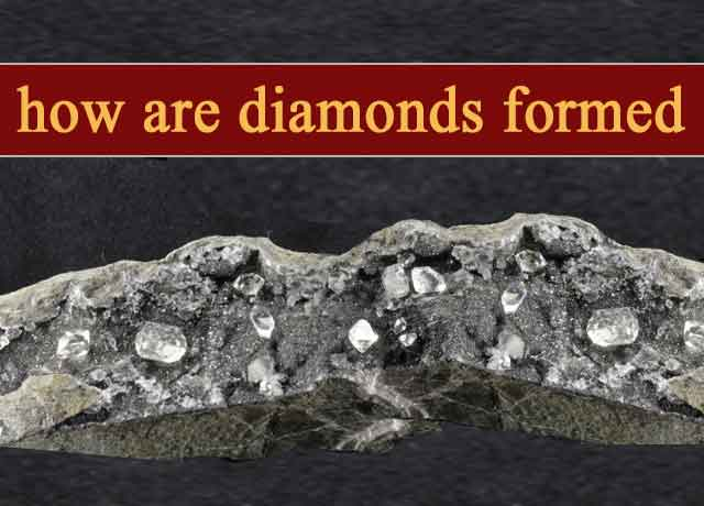 how are diamonds formed
