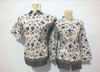 Gambar Model Baju Batik Kerja Guru