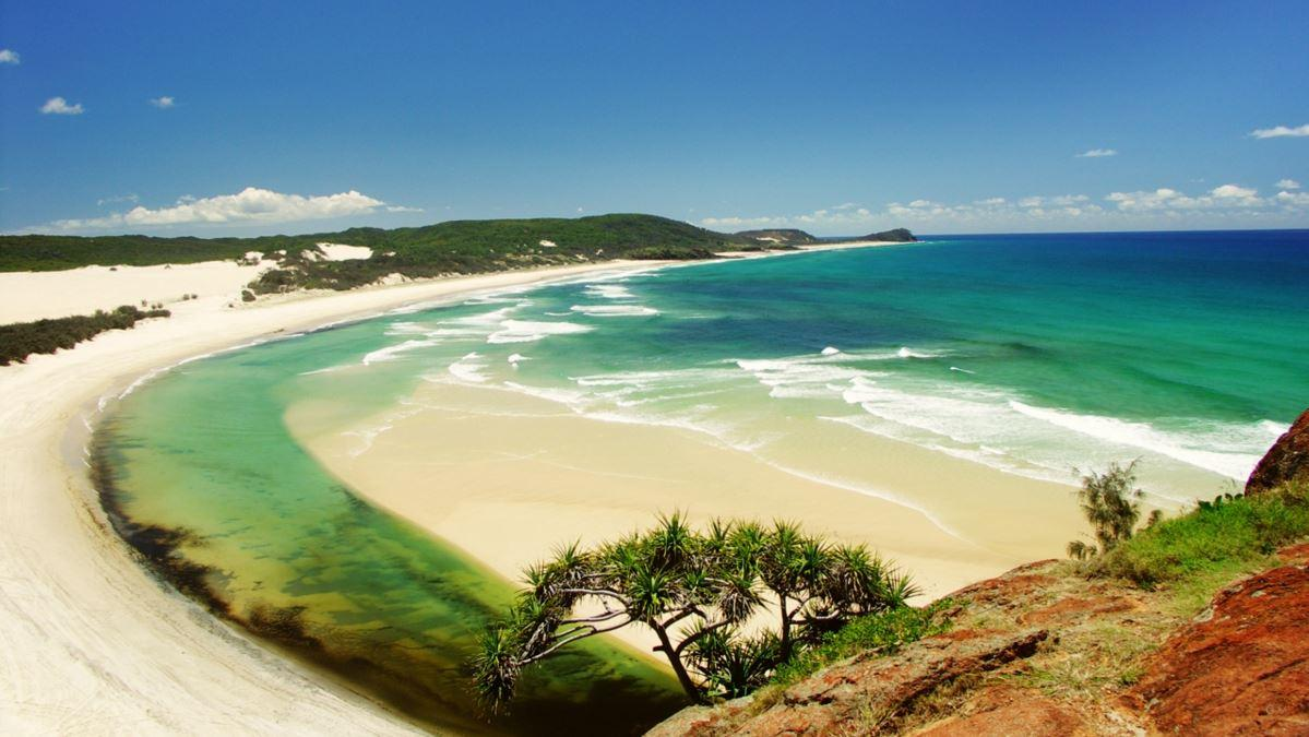 Fraser Island Beach Australia