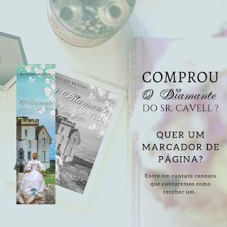 Marcadores Diamante do Sr. Cavell - Kathleen McGurl
