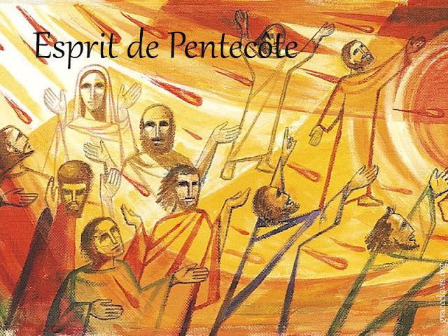 chant esprit de pentecote