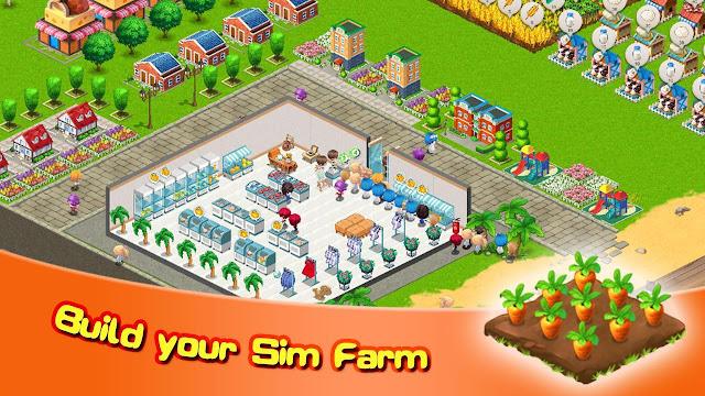 Download Sim Farm Harvest, Cook & Sale Mod Apk