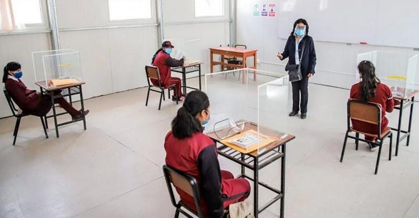 Se inició las clases escolares presenciales en Arequipa [VIDEO]