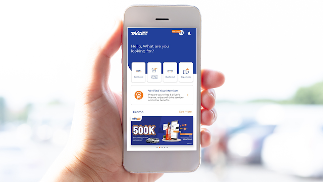 TRAC to Go Aplikasi Rental Mobil