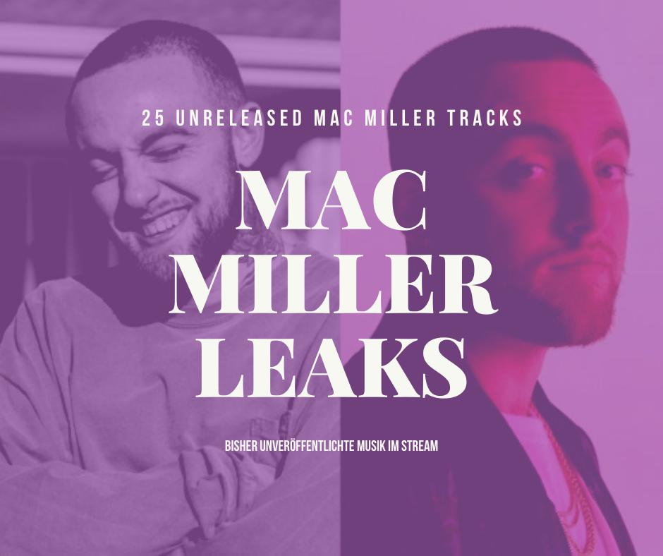 25 Mac Miller Song Leaks sind auf YouTube aufgetaucht | Hören wir rein