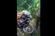 Pelaku Pembakaran Motor Belum Ditangkap, Pekebun Kalait Kecewa