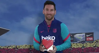 Messi awarded prize for humanitarian work
